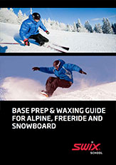 base preparation and waxing guide for alpine ski snowboard e freeride