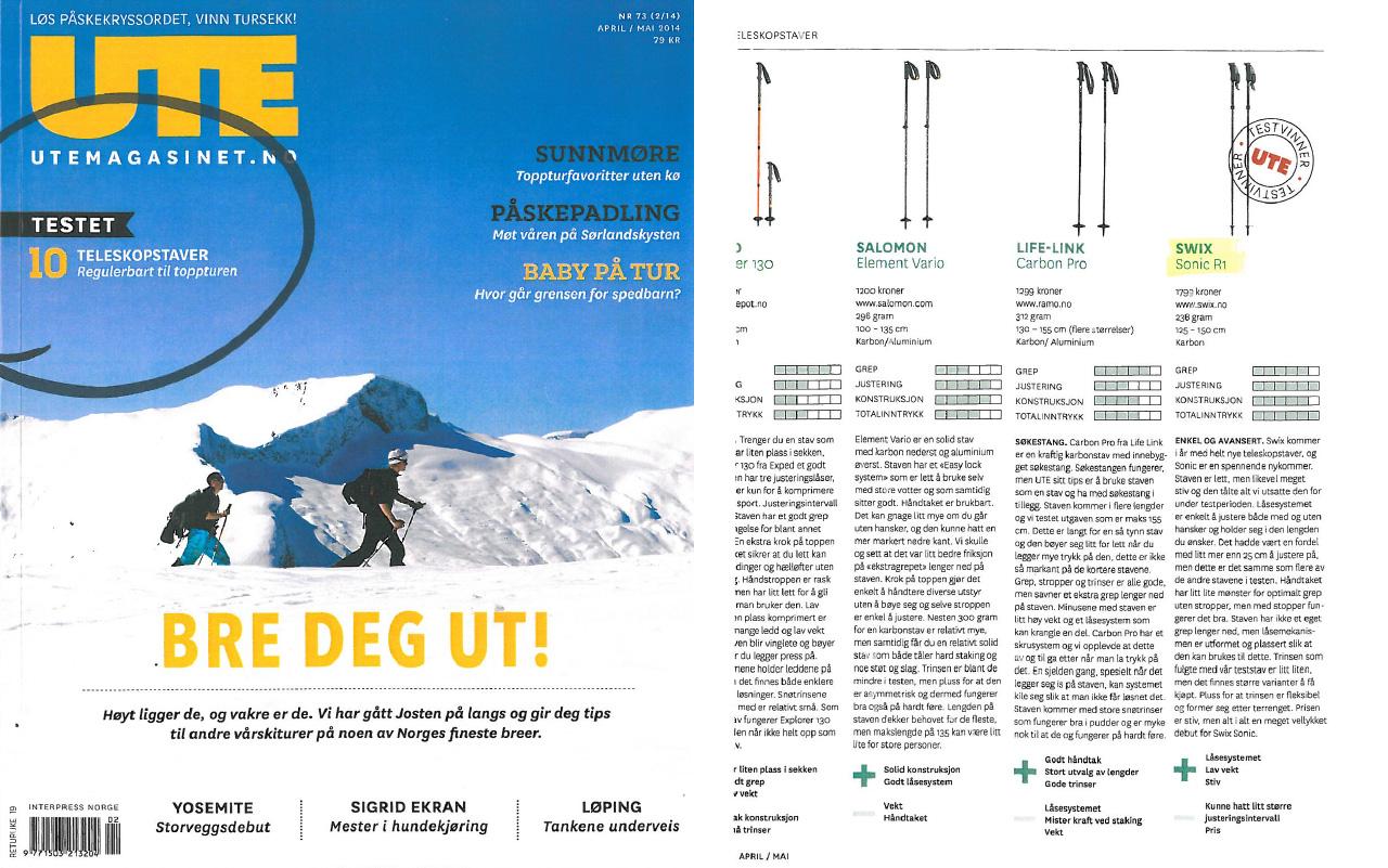 UTE magazine - Sonic R1