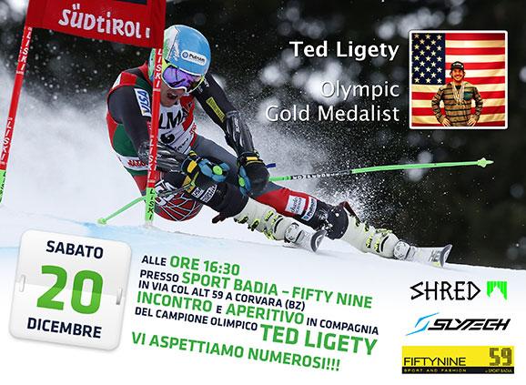 20 dic 2014 Ted Ligety allo Sport Badia di Corvara