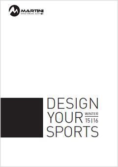 Martini Sportswear Catalogo inverno 2015/16
